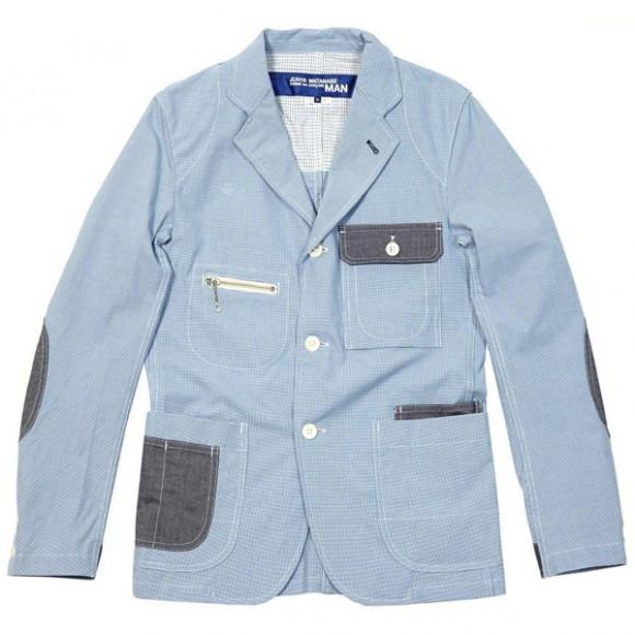 Junya Watanabe houndstooth jacket