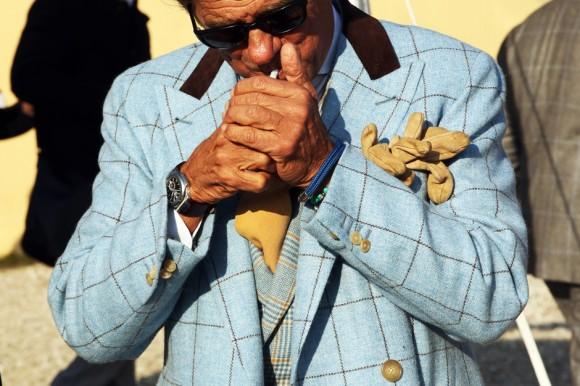 Lino Ieluzzi Aqua Windowpane + Cigarette