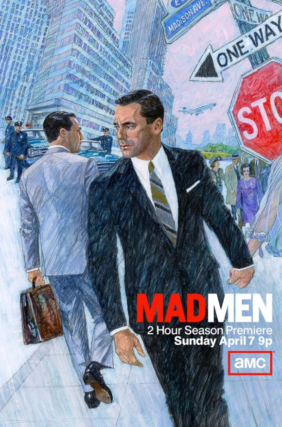 Mad Men Illustration Don Draper