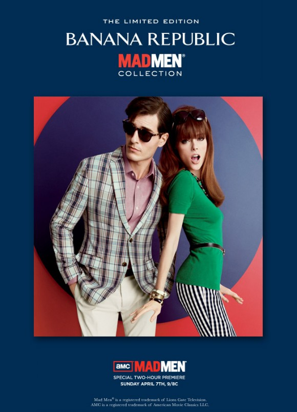 Mad Men Style collection banana republic