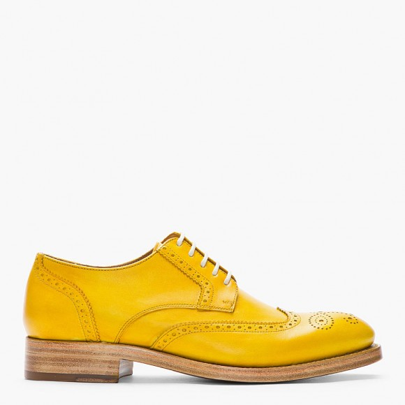 Florsheim Yellow Brogues Mustard Yellow Elliott Brogue