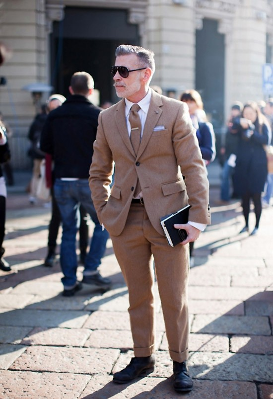 Nick Wooster in Camel