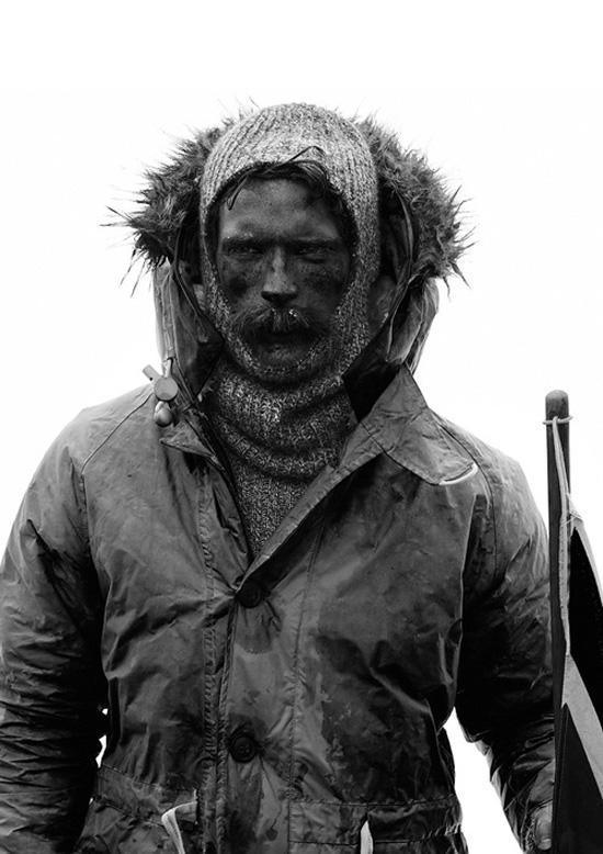 Nigel Cabourn Polar Expedition fur trim coat