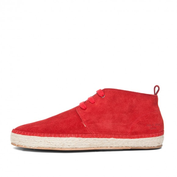 Red Suede, Red Laces Espadrille Chukka Rag & Bone