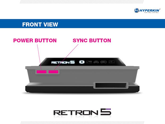 Retron 5 Front View