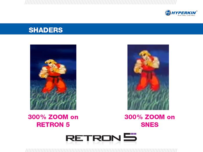 Retron 5 Sharper quality comparison