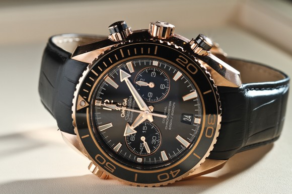 Rose Gold Seamaster professional