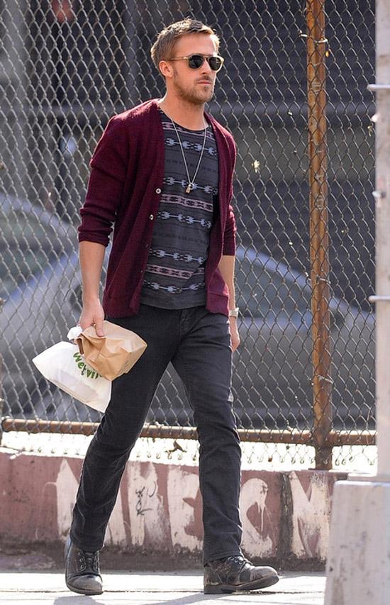 Ryan Gosling Casual Daytime Attire