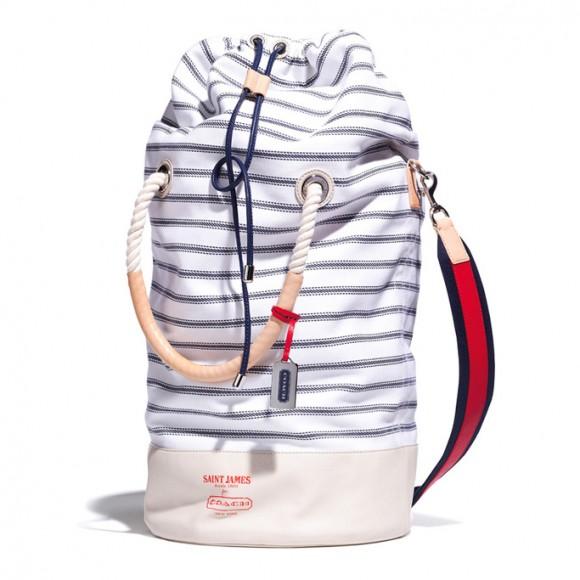 Saint James for COACH SS13 Sea Expedition bag