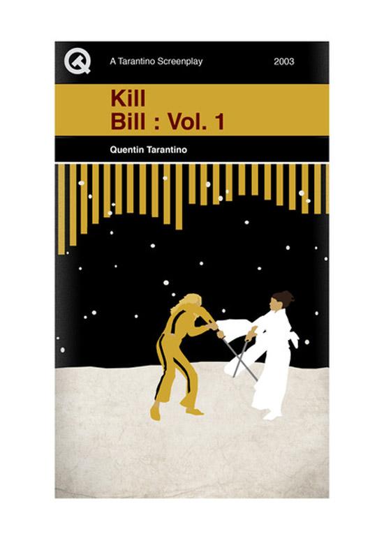 Screenplay Artwork Kill Bill Vol.1