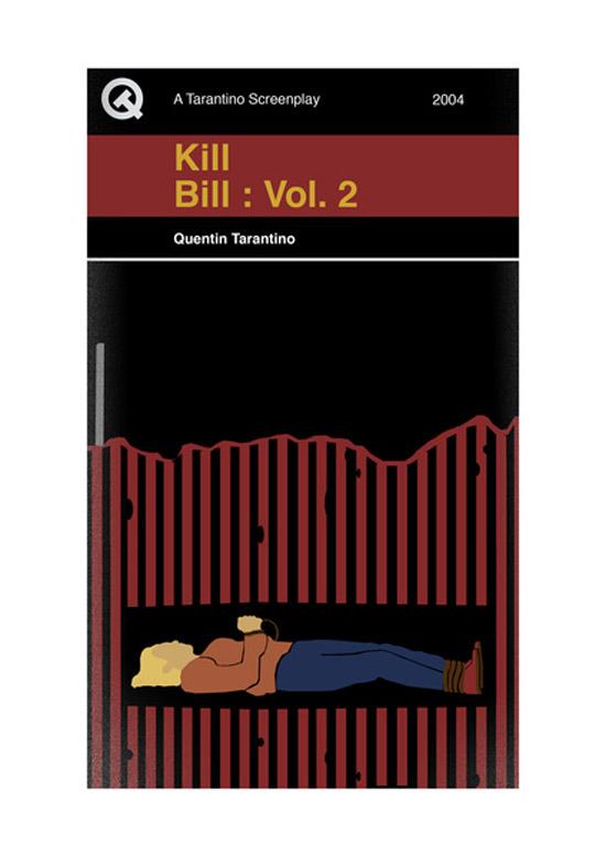 Screenplay Artwork Kill Bill Vol.2