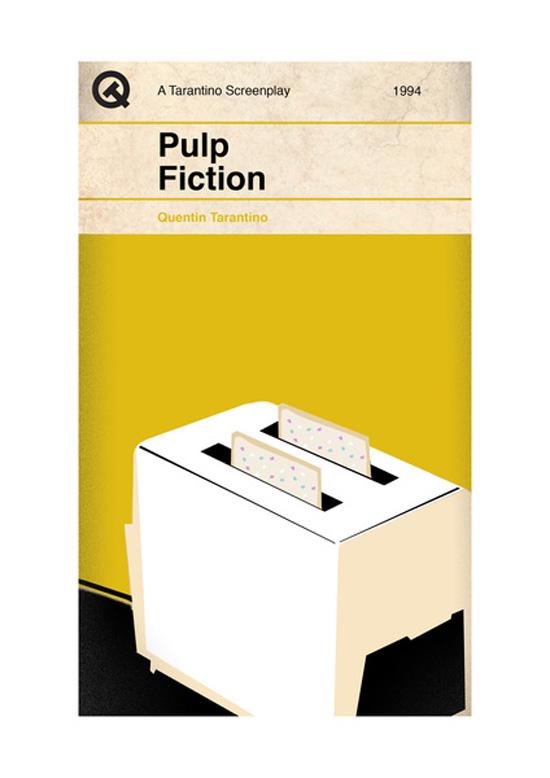Screenplay Artwork Pulp Fiction