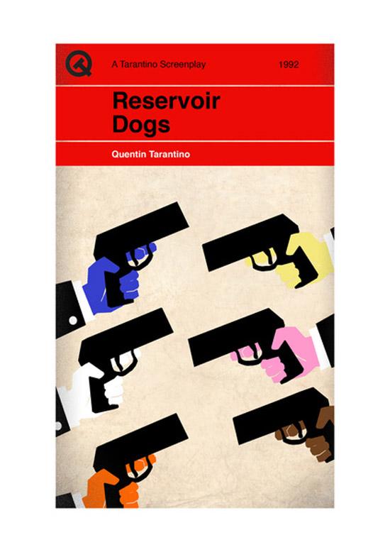 Screenplay Artwork Reservoir Dogs