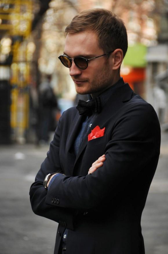 Black Suit Black Shirt Red Bow Black Suit Black Shirt Black Bow Tie