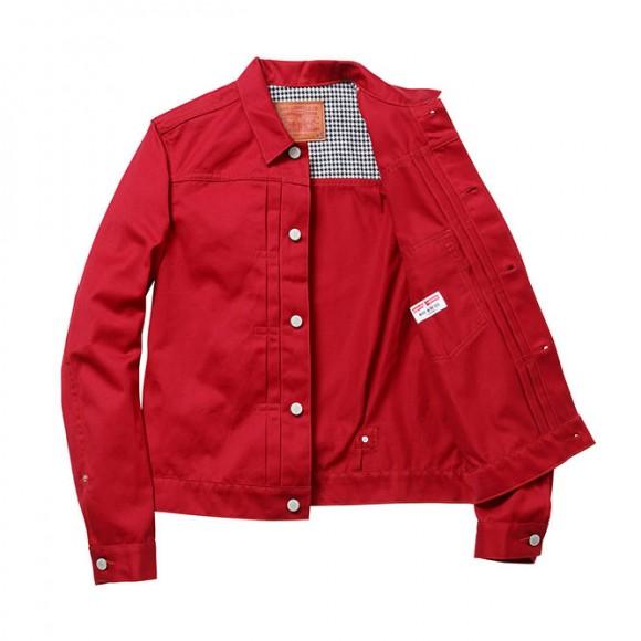 Supreme x Levi's red jacket