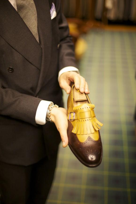 Tassel Wingtip Monkstrap shoe men style