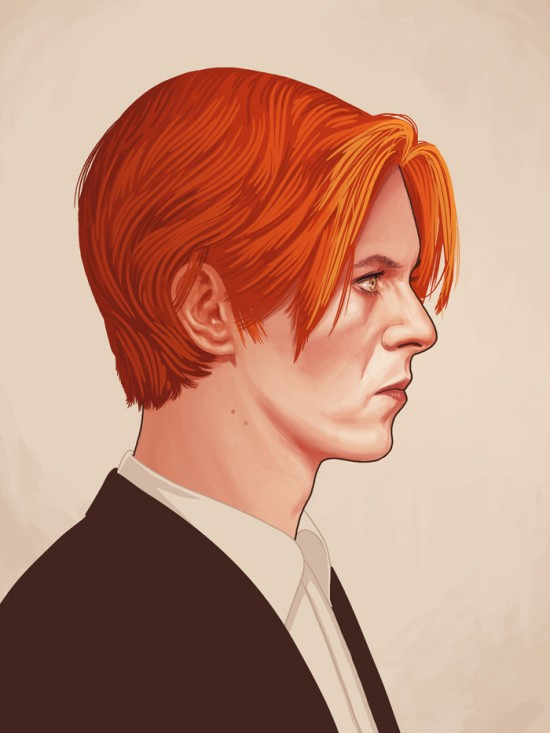 Amazing Movie Portraits by Mike Mitchell 10
