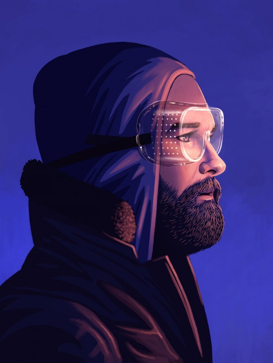 Amazing Movie Portraits by Mike Mitchell 6