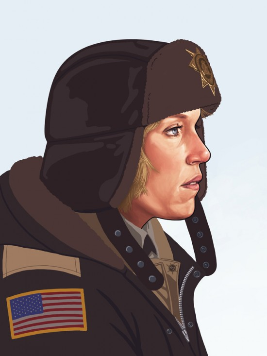 Amazing Movie Portraits by Mike Mitchell 7