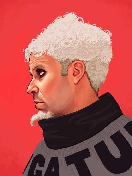 Amazing Movie Portraits by Mike Mitchell 9