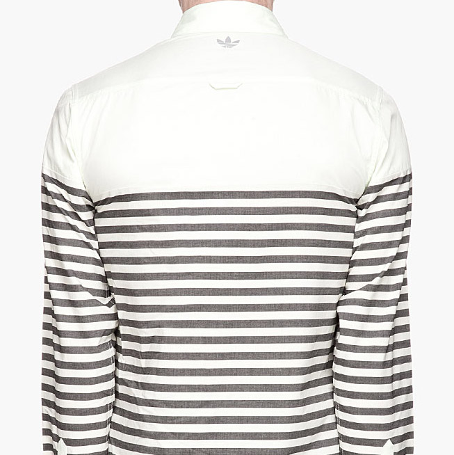 adidas Originals yoke logo dress shirt