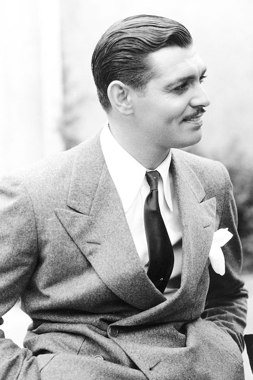 Clark Gable 1934 Vintage Style