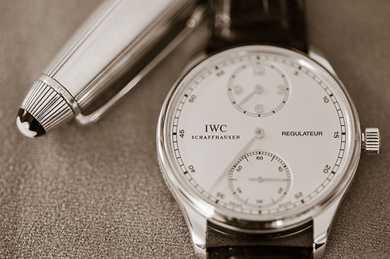 Dapper Report vol.6 10 iwc regulateur