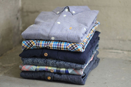 Dapper Report vol.6 23 stacked shirts