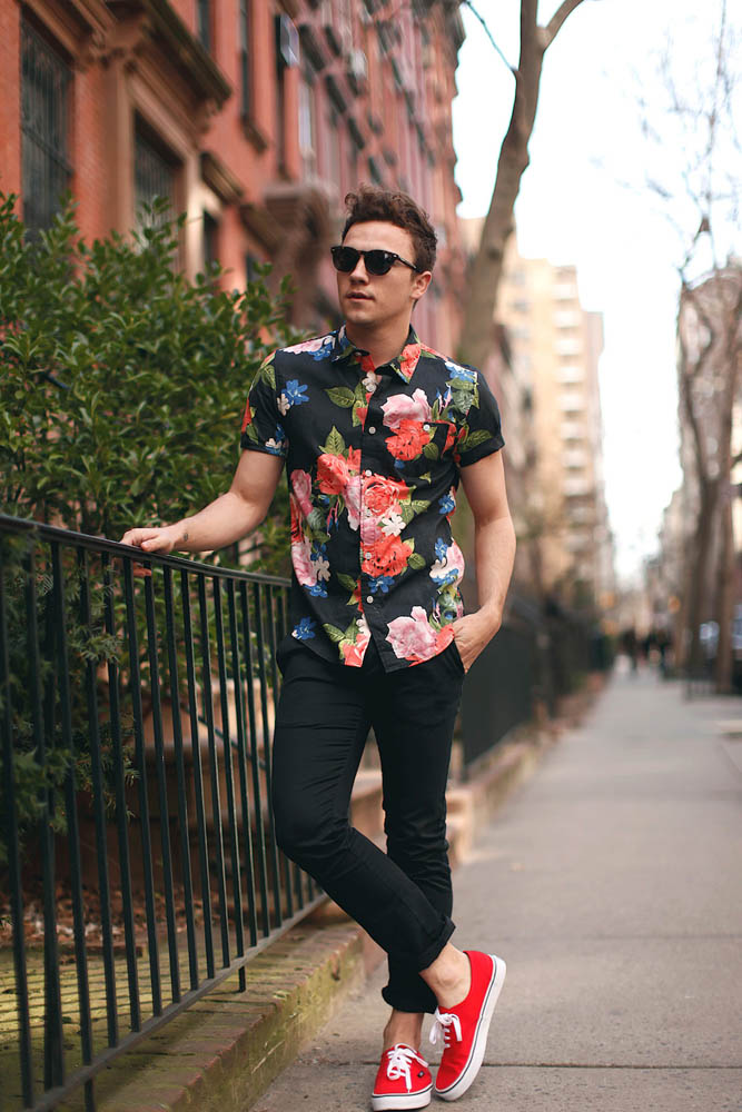 Dapper Report vol.6 8 floral preppy