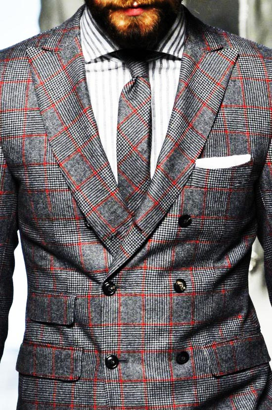 Dapper Report vol.7 20 matching tie