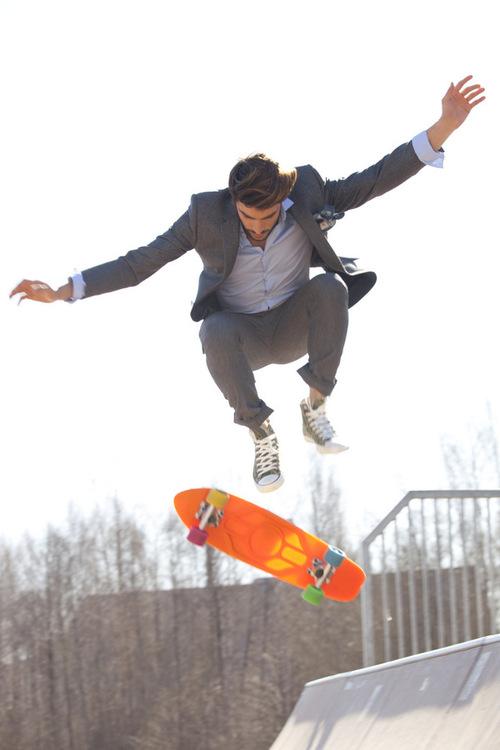 Dapper Report vol.7 24 suit skateboarding