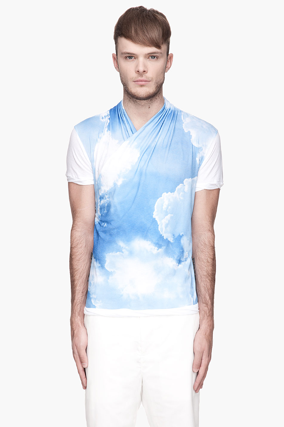 John Galliano S Fascination With Clouds Shirt Blazer