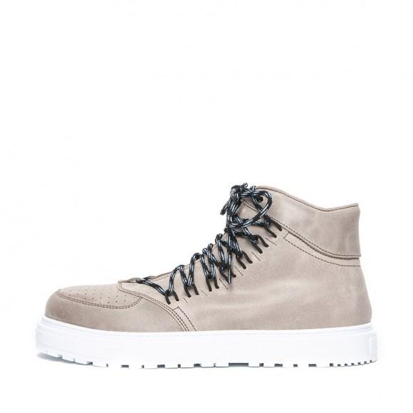 Elastic Hiking sneakers beige Kris Van Assche