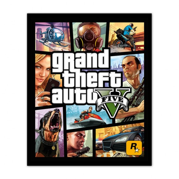 Grand Theft Auto 5 Cover Art