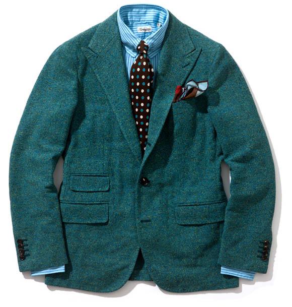 Green Sport Coat by Salvatore Piccolo