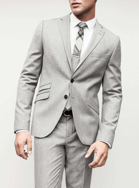Grey plaid pattern skinny tie amazing soletopia