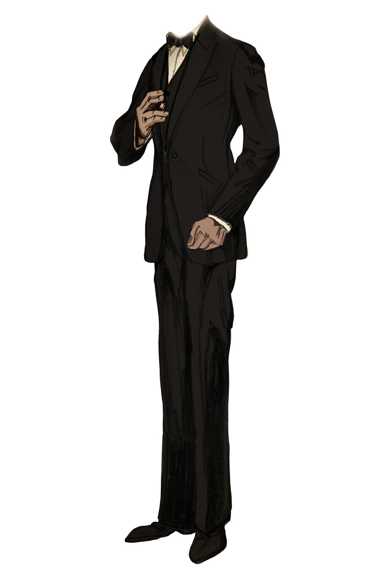Jay Gatsby tuxedo