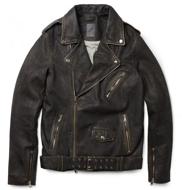Lot78 leather biker jacket