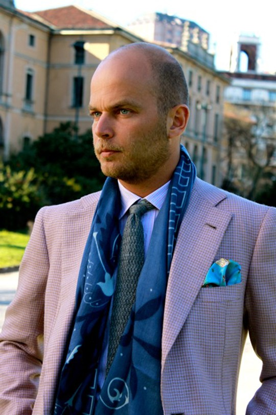 Luca Rubinacci GQ Style | SOLETOPIA Ryan Gosling Fashion Suit