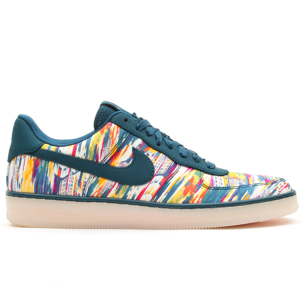 Multicolored splatter canvas Nike sneakers