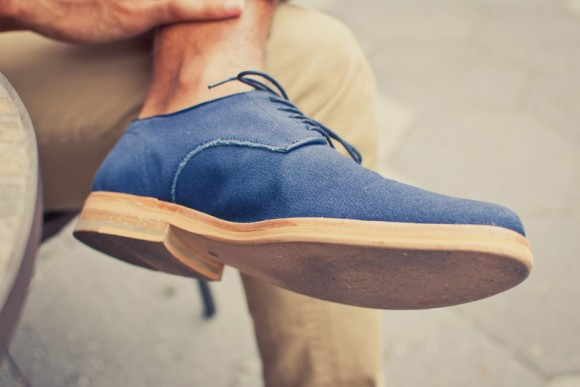Raw Canvas Shoes