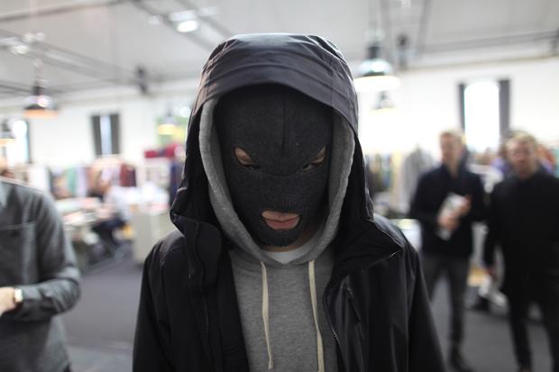 Soletopia Dapper Report ski mask hoodie airport