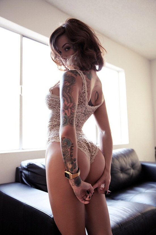 Soletopia Dapper Report tattoo booty girl