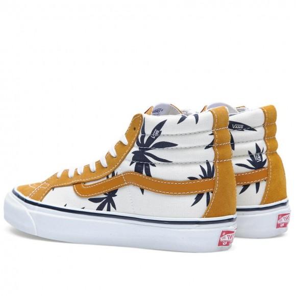 Vans Palm Leaf Sk8 Hi 1