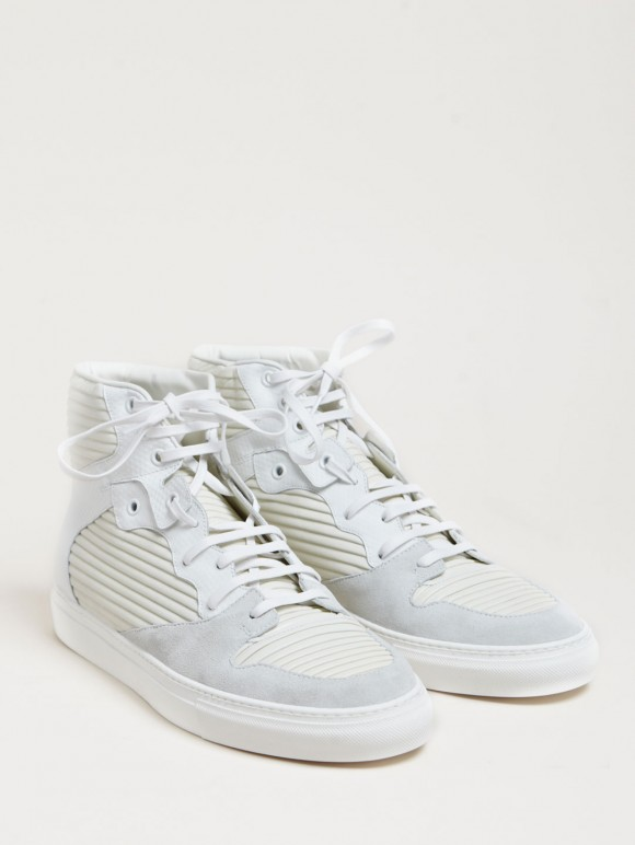 Balenciaga Hi-Top White Sneakers 1
