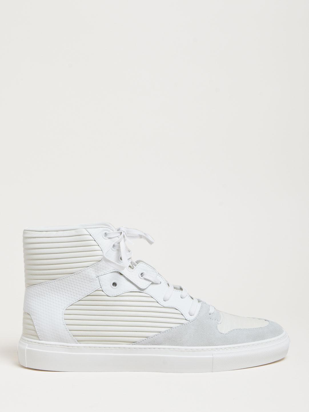 Balenciaga Hi-Top White Sneakers 2