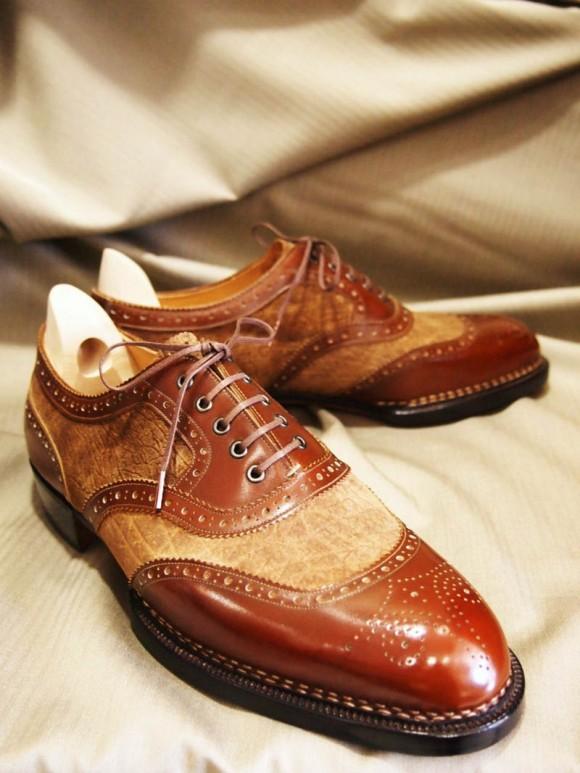 Hippopotamus Leather Shoes