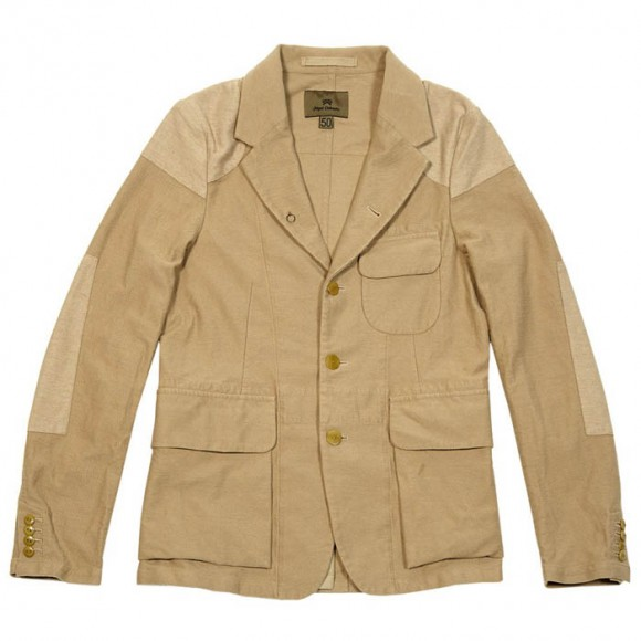 Cotton Mallory Jacket Khaki