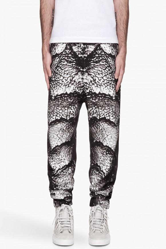 Creature Print Sweatpants Christopher Kane
