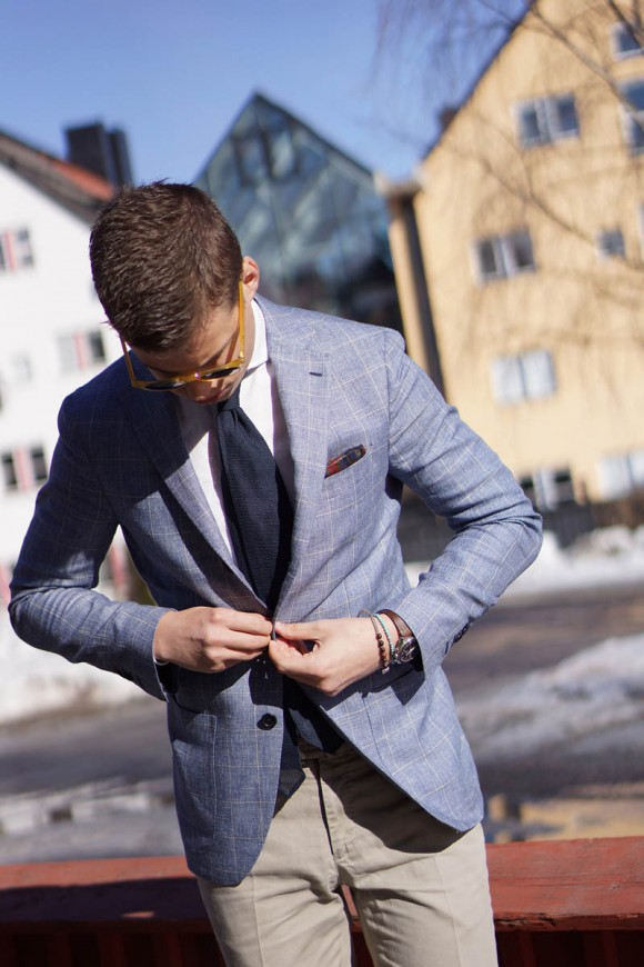 Favorite Summer Sport Coat windowpane menswear fashion